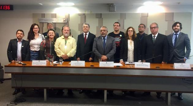NCST: Audiência pública que debateu Reforma Trabalhista e Estatuto do Trabalho