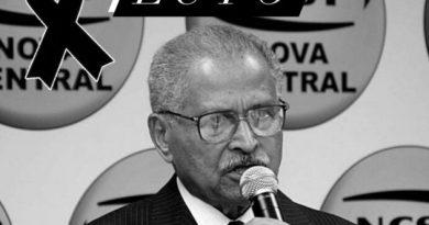 NCST em LUTO pela morte de seu líder maior, José Calixto Ramos